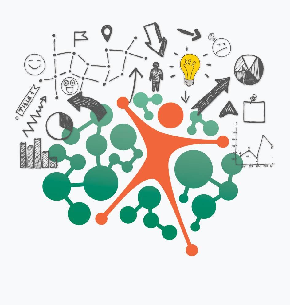 Brainstorming concept illustration
