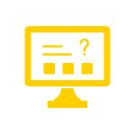 Online assessment icon